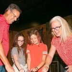 Family playing in Antidote escape room at Locktopia Houston