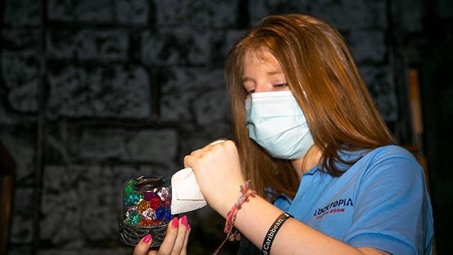Locktopia Escape Room Houston novel coronavirus pandemic cleaning