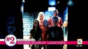 Locktopia Escape Room featured on KPRC 2's Houston Life