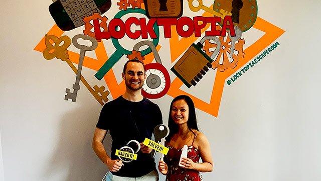 Locktopia Escape Room Houston date night