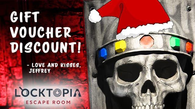 Locktopia escape room Houston gift voucher promo codes