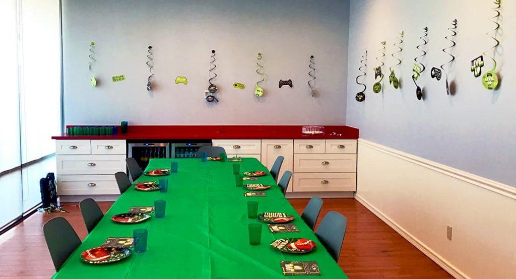 Houston birthday party event room