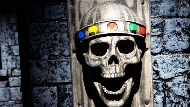 Jeffrey Skull at Locktopia Escape Room Houston