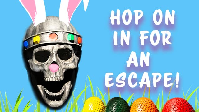 Easter promo code for Houston escape room
