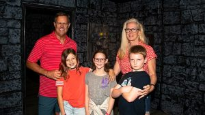 kids and family playing at Locktopia Escape Room Houston