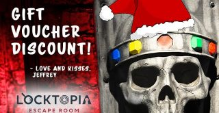 Locktopia escape room Houston gift voucher promo codes